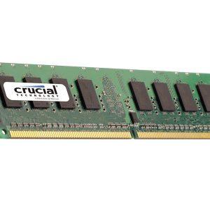 Crucial 8GB DDR3L 1600MHz Dual Rank ECC Unbuffered Dimm