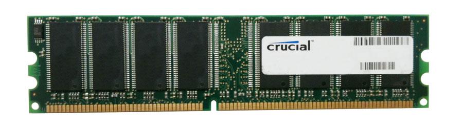 Crucial 1GB DDR 400MHz Desktop