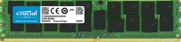 Crucial 16GB DDR4 2666MHz Dual Rank ECC Registered Dimm