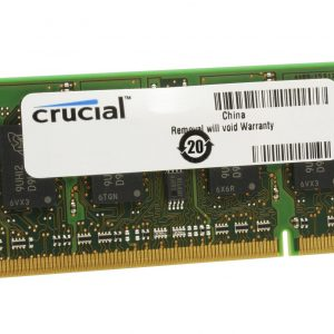 Crucial 2GB DDR3L 1600MHz SO-DIMM Single Rank