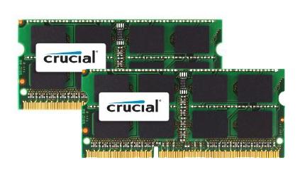Crucial Mac 4GBKit (2GBx2) DDR3 1066MHz SO-DIMM