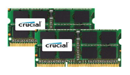 Crucial Mac 8GBKit (4GBx2) DDR3 1066MHz SO-DIMM