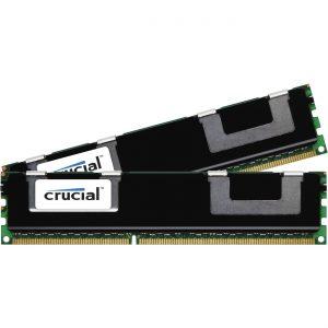 Crucial 16GBKit (8GBx2) DDR3 1866MHz Single Rank Registered Dimm