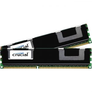 Crucial 16GBKit (8GBx2) DDR3L 1600MHz Dual Rank Very Low Profile Registered Dimm