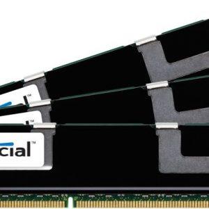 Crucial 24GBKit (8GBx3) DDR3 1600MHz Dual Rank Registered Dimm