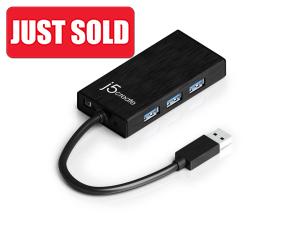 J5 Create USB3.0 Gigabit Ethernet Multi-Adapter